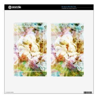 Soft Florals Kindle Fire Skin