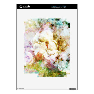 Soft Florals Skin For The iPad 2