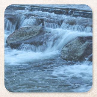 Soft Flow Square Paper Coaster