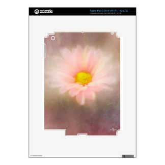 Soft Flower iPad 3 Decals