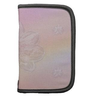 Soft Flower on Pastel Medley Folio Planner