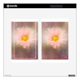 Soft Flower Skin For Kindle Fire