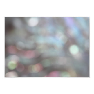 Soft Focus Abstract Pattern. Card