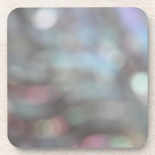 Soft Focus Abstract Pattern. Drink Coaster