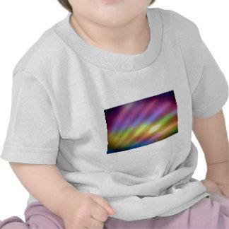 Soft focus rainbow colors shirt