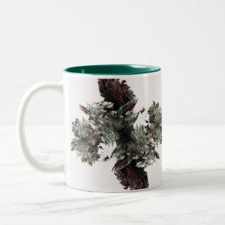 Soft fractal design Mug