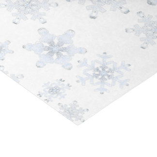 """Soft Frosty Snowflakes - Tissue Paper 10"""" X 15"""" Tissue Paper"""