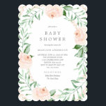 "Soft Garden Florals Baby Shower Invitation<br><div class=""desc"">For more advanced customization of this design,  simply select the &quot;Customize It&quot; button above!</div>"