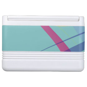 Soft Gentle Abstract Swirls Igloo Drink Cooler