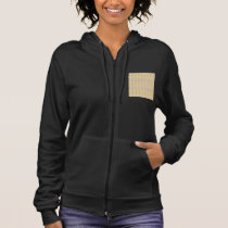 Soft Golden CRYSTAL pattern lowprice GIFTS NVN295 Hoodie