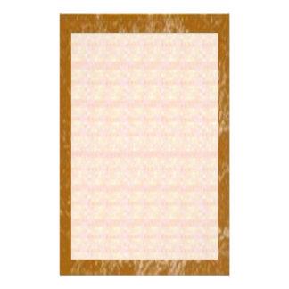 Soft Golden Stripes Stationery