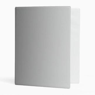 Soft Gradients Colors - black grey + your ideas Mini Binder