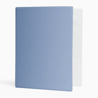 Soft Gradients Colors - blue + your ideas Mini Binder