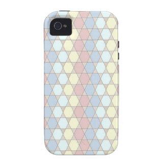soft graphic patter, rose iPhone 4/4S cover
