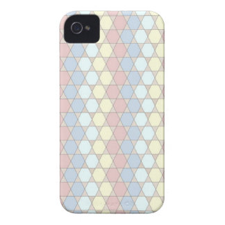 soft graphic patter, rose Case-Mate iPhone 4 case