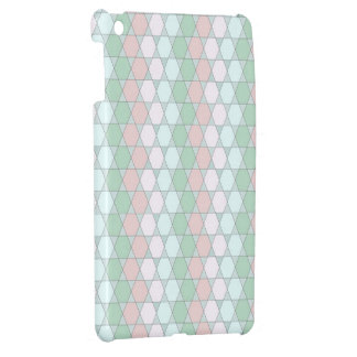 soft graphic pattern iPad mini cover