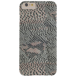 Soft Gray and Pink Snake Skin Barely There iPhone 6 Plus Case