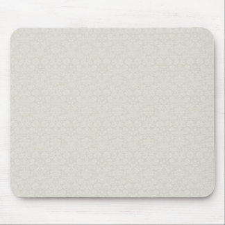 Soft Green Damasks Mouse Pad