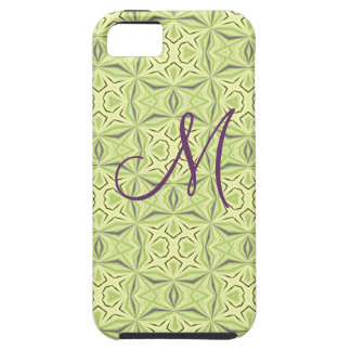 Soft Green Geo Pattern Case-Mate iPhone 5 Cases