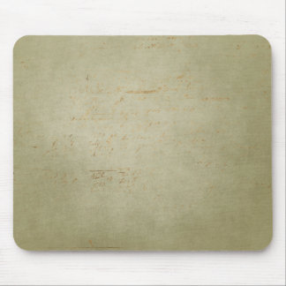 soft green rusty background mouse pad