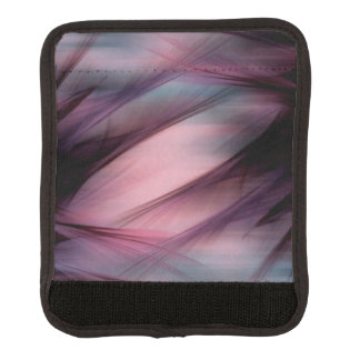 Soft Hazy Mauve Abstract Luggage Handle Wrap