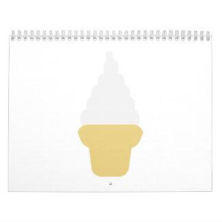 Soft ice cream calendar