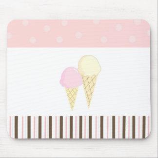 Soft Ice Cream Mouse Pad