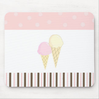 Soft Ice Cream Mouse Pads
