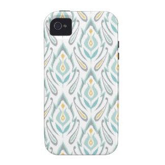 Soft Ikat Vibe iPhone 4 Covers