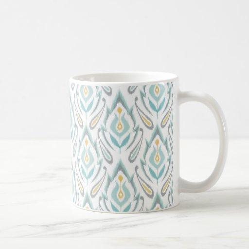 Soft Ikat Coffee Mugs