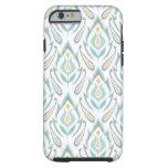 Soft Ikat Tough iPhone 6 Case