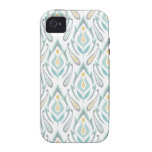 Soft Ikat Vibe iPhone 4 Covers