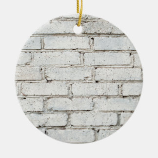 Soft image of a background of gray brick wall ceramic ornament