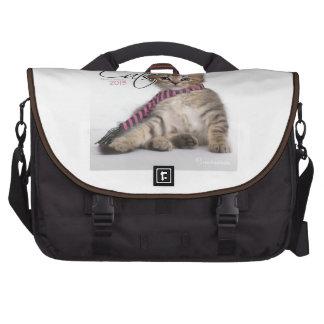 Soft Kitty Laptop Messenger Bag