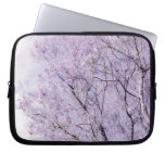 Soft Lavender Floral Branches Computer Sleeves