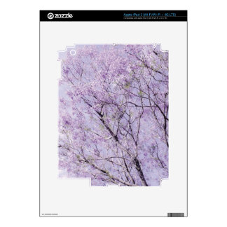 Soft Lavender Floral Branches iPad 3 Decal