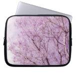 Soft Lavender Floral Branches Laptop Sleeve
