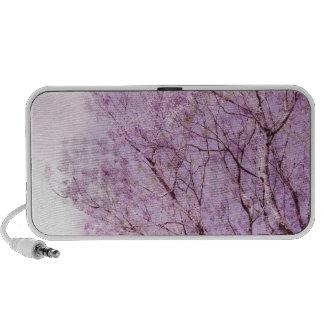 Soft Lavender Floral Branches iPod Speaker