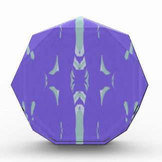 Soft Lavender Mint Green Artsy Pattern Award