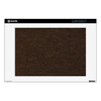 Soft Leather Print Laptop Skins