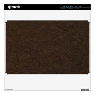 Soft Leather Print Skin For MacBook Air