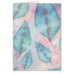 Soft Leaves Greeting Card