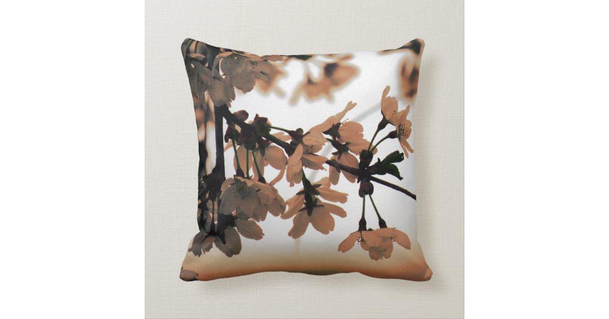 Large Soft Decorative Pillows : Soft Light Peach Throw Pillow Zazzle