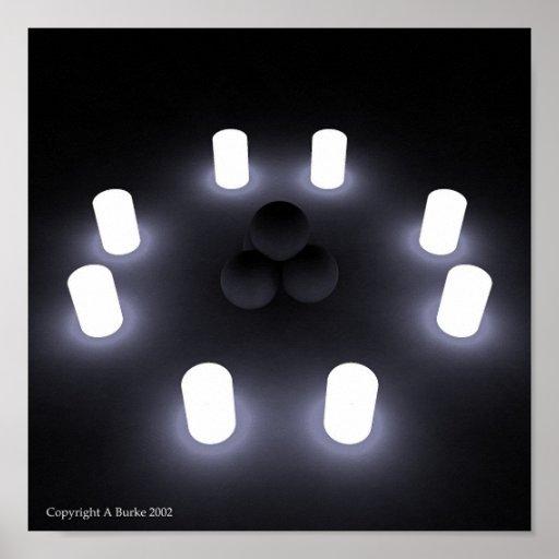 Soft Light Poster