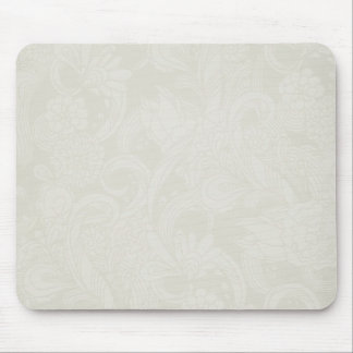 soft lightly flower mouse pad