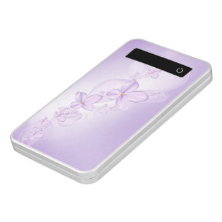 Soft Lilac Flowers Power Bank