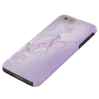 Soft Lilac Flowers Tough iPhone 6 Plus Case