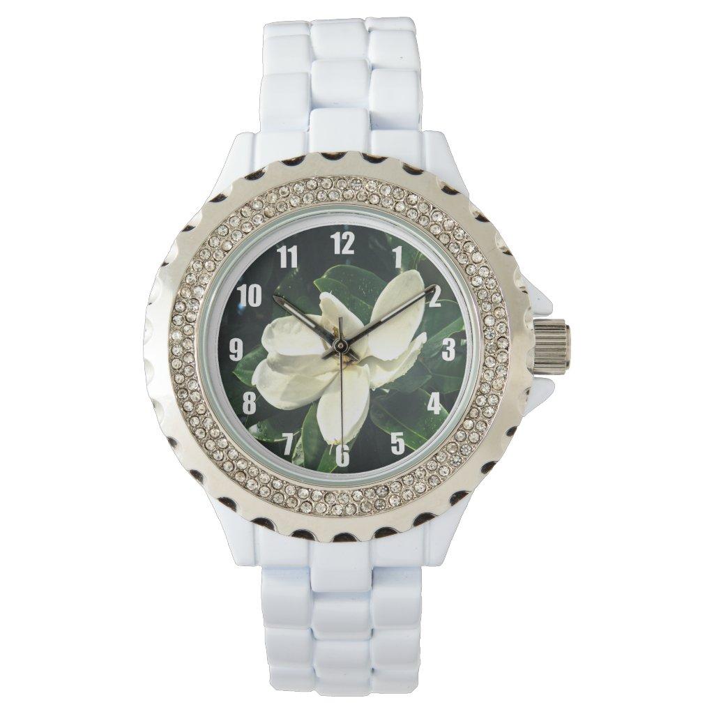 Soft Magnolia Blossom Women's Watch
