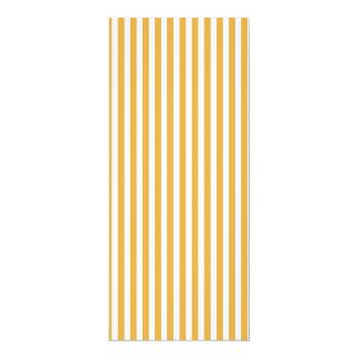 Soft Marigold Yellow Cabana Stripe Pattern Card