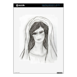 Soft Mary Decals For iPad 3